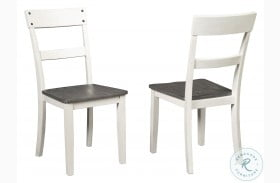 Nelling Two Tone Side Chair Set Of 2