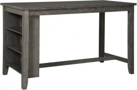 Caitbrook Gray Rectangular Counter Height Dining Table
