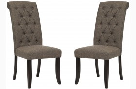 Tripton Graphite Upholstered Side Chair Set of 2