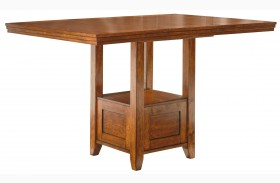 Ralene Rectangular Dining Room Extendable Counter Table