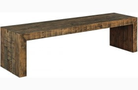 Sommerford Brown Large Dining Bench
