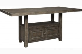 Wyndahl Rustic Brown Counter Height Dining Table