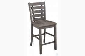 Fiji Harbor Gray Counter Height Chair Set Of 2