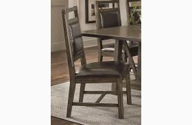 Crossroads Birch Smoke Upholstered Dining Chair Set of 2