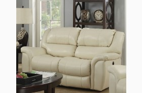 Admirable Dawson Cream Leather Power Reclining Living Room Set From Dailytribune Chair Design For Home Dailytribuneorg