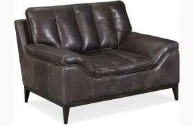 Kandor Black Leather Chair
