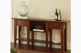 Desoto Medium Red Oak Sofa Table