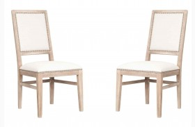Dexter Stone Wash Dining Chair Set of 2