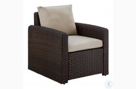 Durable Resin Wicker Modern Weave Outdoor Chair