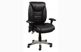 Bovina Black Memory Foam Chair