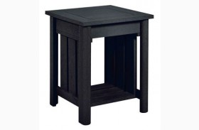Stratford Black End Table