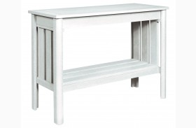 Stratford White Sofa Table