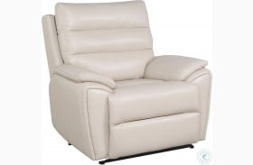 Duval Ivory Power Recliner