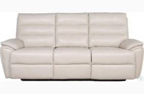 Duval Ivory Power Reclining Sofa