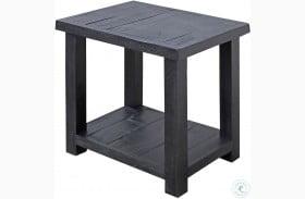 Durango Rustic Dark Pine Chairside End Table