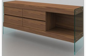 Elm Walnut Matte Buffet