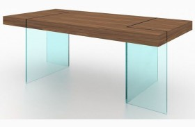 Elm Modern Rectangular Dining Table