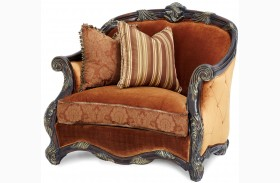Essex Manor Wood Trim Chair and a Half
