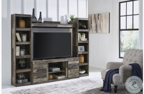 Derekson Multi Gray Entertainment Wall