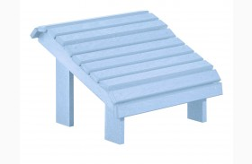 Generations Sky Blue Premium Footstool