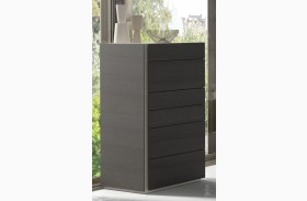 Faro Natural Grey Lacquer 6 Drawer Chest