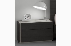 Faro Natural Grey Lacquer LAF Nightstand