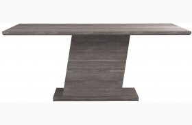 Vivente Matte Grey Forte Extendable Dining Table
