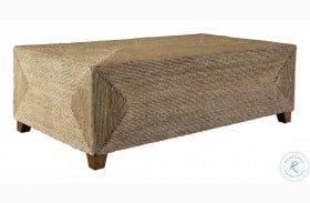 Rora Natural Woven Coffee Table