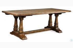 Hawthorne Barnwood Extendable Rectangular Dining Table