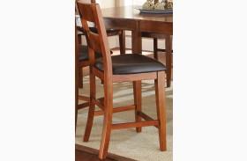 Mango Medium Brown Counter Chair Set of 2