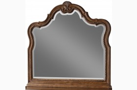 Belle Meade Sunkissed Pecan Landscape Mirror
