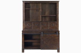 Pine Hill Rustic Pine Storage Cabinet