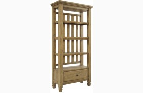 Trishley Weathered Gray Pier Cabinet