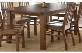 Hailee Antique Oak Extendable Rectangular Dining Table