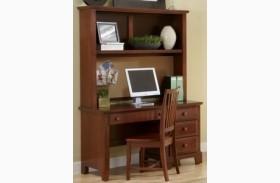 Hamilton/Franklin Cherry Computer Desk With Hutch