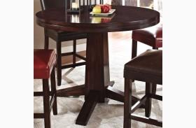 Hartford Round Pedestal Counter Height Table