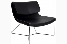 Hollywood Black Leatherette Chair