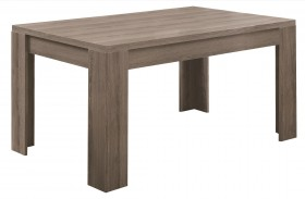 1055 Dark Taupe Dining Table
