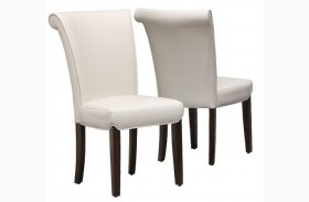 1666TP Taupe Side Chair Set of 2