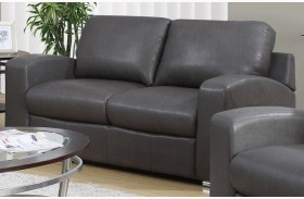 Charcoal Gray Match Loveseat 8502GY