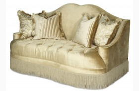 Imperial Court Pearl Tufted Loveseat