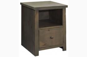 Joshua Creek Barnwood File Cabinet