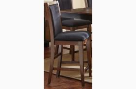 Julian Black Walnut Counter Chair Set of 2