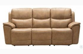 Modern Expressions Elliott Taupe Kaden Power Reclining Sofa With Power Headrest