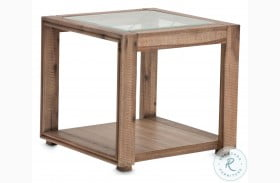 Hudson Ferry Driftwood End Table