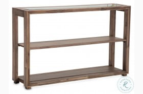 Hudson Ferry Driftwood Console Table