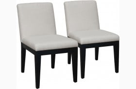 Fine True Modern Minimalist Tuxedo Black Round Dining Room Set Bralicious Painted Fabric Chair Ideas Braliciousco