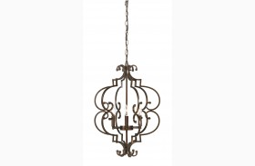 Kanab Antique Copper Metal Pendant Light