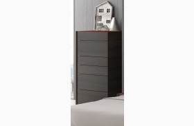 Lagos Natural Light Grey Lacquer Chest