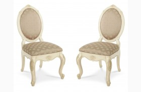 Lavelle Blanc Side Chair Set of 2
